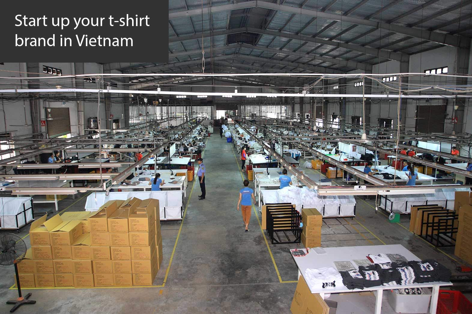 t shirt factory in vietnam